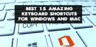 best keyboard shortcuts for mac and window