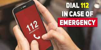 112-emergency-number in india
