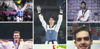 Top 5 World Taekwondo Players (68kg)